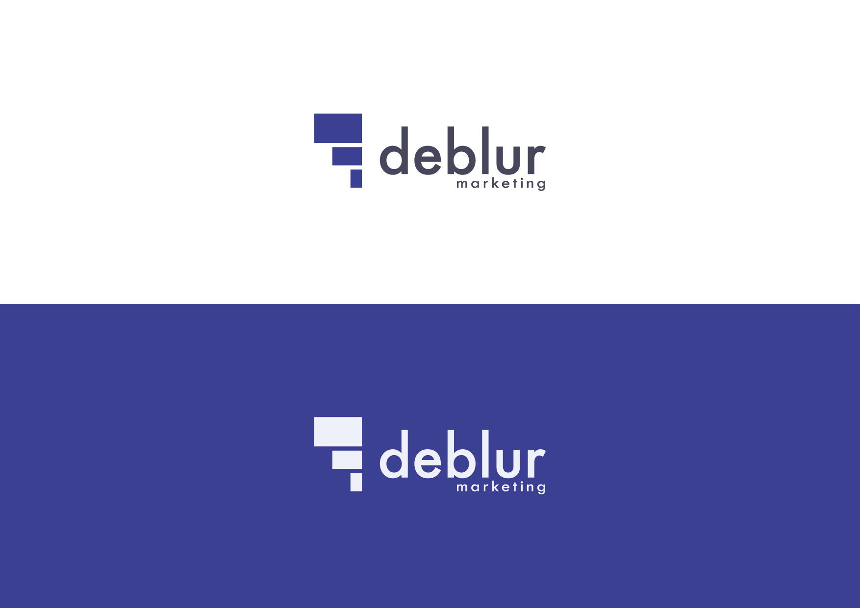 Logotipo Deblur